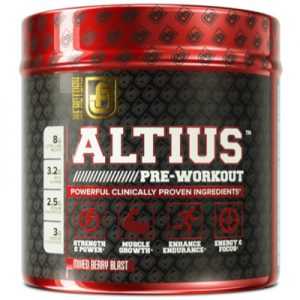 ALTIUS has an impressive range of ingredients
